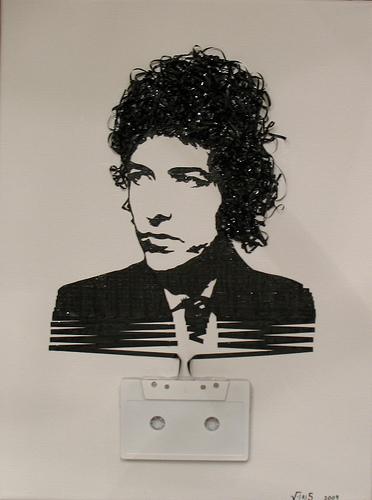 Old-cassette-art-bob-dylan